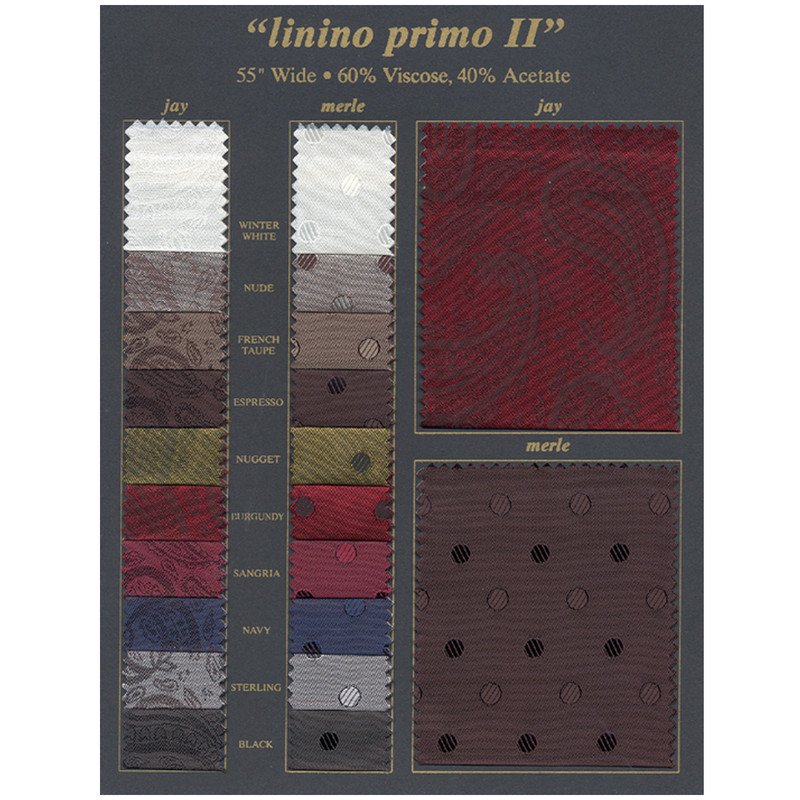 Linino Primo II color Card