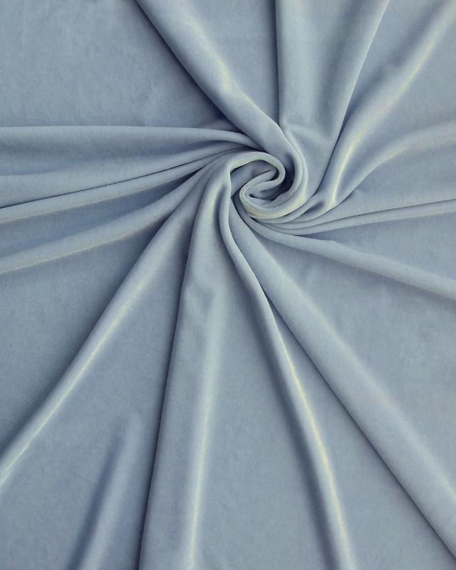 Spandex Velvet Baby Blue