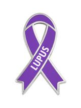 Awareness Ribbon Pin - Lupus