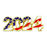 2024 Patriotic Year Pin