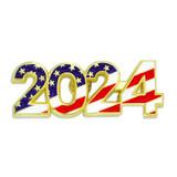 2024 Patriotic Year Pin