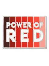 Power Of Red Pin