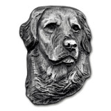 Golden Retriever Dog Pin