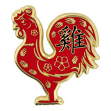 Chinese Zodiac Pin - Year of the Rooster