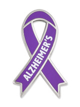 Awareness Ribbon Pin - Alzheimer's