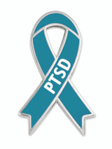 Awareness Ribbon Pin -PTSD
