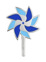 Child Abuse Prevention Pinwheel Pin