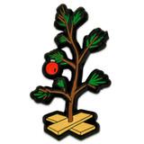 Sad Christmas Tree Pin