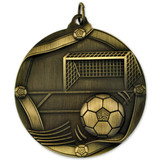 Soccer Sports Medal - Engravable