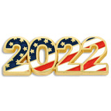 2022 Patriotic Year Pin