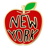 New York Apple Pin