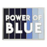 Power of Blue Lapel Pin