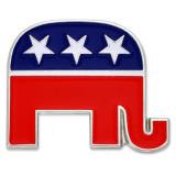 Republican Elephant Pin