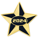 2024 Blue and Gold Star Pin