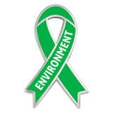 Awareness Ribbon Pin - Environment