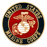 Officially Licensed Marine Corps Pin