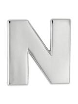 Silver N Pin