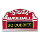 Chicago Baseball Marquee Pin