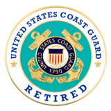 U.S. Coast Guard Retired Pin