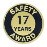 Safety Award Pin - 17 Years