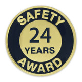 Safety Award Pin - 24 Years