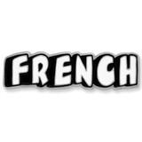 French Word Language Pin