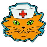 Cat Nurse Pin