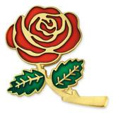 Colored Rose Lapel Pin