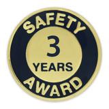 Safety Award Pin - 3 Years