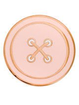 Pink Button Pin Magnetic Back