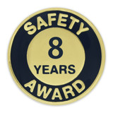 Safety Award Pin - 8 Years