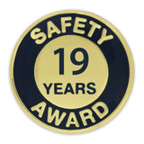 Safety Award Pin - 19 Years