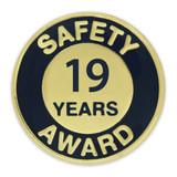 Safety Award Pin - 19 Years