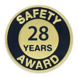 Safety Award Pin - 28 Years