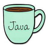 Java Coffee Mug Pin