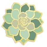 Succulent Flower Pin