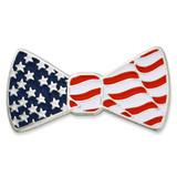 Patriotic Bow Tie Pin