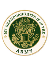 U.S. Army Granddaughter Pin