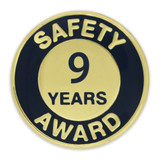 Safety Award Pin - 9 Years