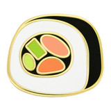 Sushi Roll Lapel Pin