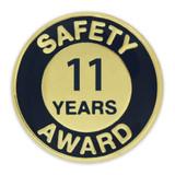 Safety Award Pin - 11 Years