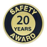 Safety Award Pin - 20 Years