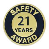 Safety Award Pin - 21 Years