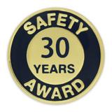 Safety Award Pin - 30 Years