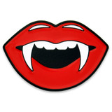 Lips With Fangs Pin
