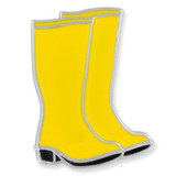 Rubber Boots Lapel Pin