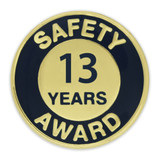 Safety Award Pin - 13 Years