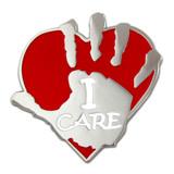 I Care Pin