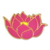 Lotus Flower Lapel Pin