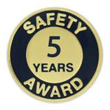 Safety Award Pin - 5 Years